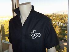 BLACK  50's ELVIS EP Monogrammed Shirt (Tribute Artist Costume) Pre Jumpsuit Era
