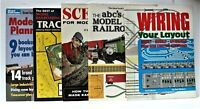 Lot of 5 Model Railroad Books-Scenery, Track Plans, Wiring, ABC's of Railroading