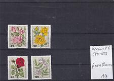 Berlin 680 - 683 Blumen Rosen postfrisch 14