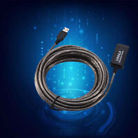 16FT 5M USB 2.0 Active Repeater Male to Female Extension Cable Adapter Cord