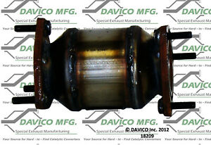 Catalytic Converter-Exact-Fit Front Davico Exc CA 18209
