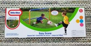 NEW Little Tikes Easy Score Soccer Set. Includes Net, Ball and Pump
