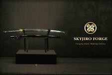 SKYJIRO HANABIRA JAPANESE NIHONTO SHINKEN SAMURAI KATANA SWORD SIGNED PAPER