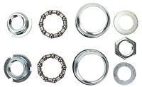 American Bottom Bracket BB Set SunLite 1-piece 24tpi Silver