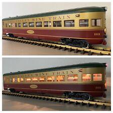 LGB 36591 :: Napa Valley Wine Train - Observation Car w/Metal Wheels & Lights