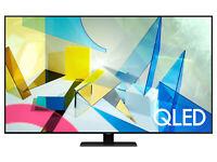 "Samsung Q80T 75"" 4K Ultra HD HDR Smart QLED TV - 2020 Model *QN75Q80T"