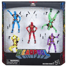 Marvel Legends Infinite Deadpool Rainbow Squad Action Figure 5-Pack