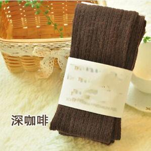 HOT Women's Warm Cotton Tights Pantyhose Seamless Twist Wave Winter Stockings