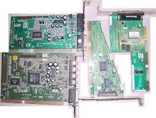 Konvolut ISA Steckkarten ? Sound, SCSI, Netzwerk, Modem - vintage - Retro