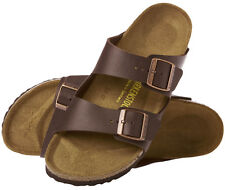 *NIB* ARIZONA 36 M SIZE 5-5.5 US WOMEN {DARK BROWN} LEATHER SANDALS BIRKENSTOCK