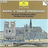 6 Paris Symphonies (Karajan) [European Import], Joseph Haydn, Very Good Live, Im