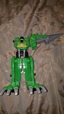 Power Rangers Dino Charge Green T Rex Zord incomplete