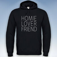 Homie Lover Friend Hoodie Kapuzen Pulli Sweatshirt Couple Valentinstag XXS-5XL