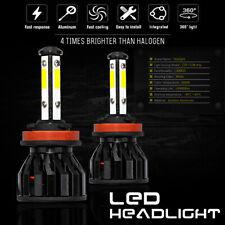 2x Bulbs H11 LED Headlight Low Beam 80W 6000K White For Mazda CX-3 2015-on