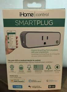 iHome Control Smart Plug  Wi-Fi for IOS and Android Smartplug