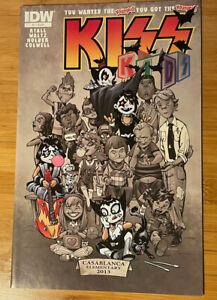 KISS KIDS #2 Regular COVER 2013 IDW COMICS NM/NM+