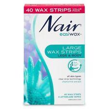 Nair Easiwax Wax Strips Large 40 WAX STRIPS