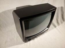 "Vintage 13.5"" 1990 Sylvania TV Television Model RAX156 CH02 13L4-04 Retro Gaming"