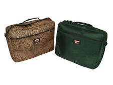 """Laptop bag fully padded, inside and outside pocket fits 17"""" laptop Made in USA"""