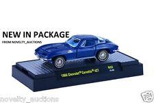 L17 32600 32 M2 Machine Detroit Muscle 1966 Chevrolet Corvette 427 Vette 1:64