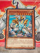 Carte YU GI OH DIABOLOS RAYON LUMINEUX GAOV-FR035 x 2