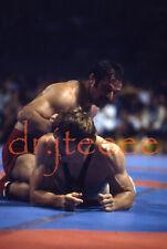 1976 OLYMPICS Peterson vs Tediashvili - 35mm Wrestling Slide
