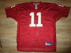 Larry Fitzgerald #11 Arizona Cardinals Reebok NFL Jersey 2XL 2X Rookie
