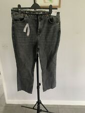 Neues AngebotTopshop Hoch Tailliert Gerades Bein Jeans UK 16