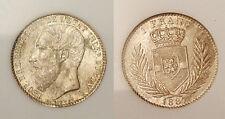 Belgian Congo 1887 1FR, Rare Superb Gem BU, Rare Grade, Full Luster, Sharp, Key