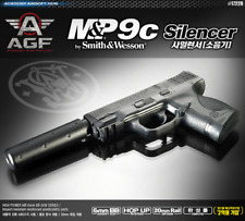 Academy M&P 9C 17228 Silencer Airsoft Pistol BB Shot Gun 6mm Hand Grips Toy