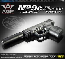 [ACADEMY] M&P 9C 17228 Silencer Airsoft Pistol BB Shot Gun 6mm Hand Grips Toy