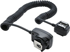 Xit XTSCC Heavy Duty Off-Camera Flash Cords that Stretch to 7.5-Feet for Canon (Black)