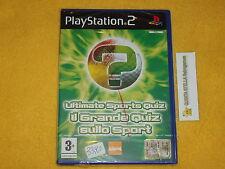IL GRANDE QUIZ SULLO SPORT PS2 SONY PLAYSTATION 2 PAL VERS. ITALIANA NUOVO SIG
