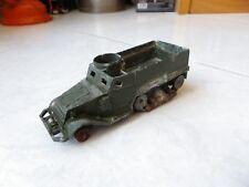 Half Track 822 militaire Dinky Toys Meccano 1/43 jouet miniature ancien