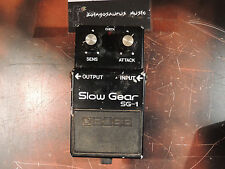 VINTAGE BOSS SG-1 SLOW GEAR EFFECTS PEDAL MADE IN JAPAN MIJ ORIGINAL
