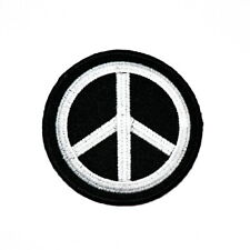 Peace Sign Symbol Retro Hippie Rock Punk DIY Clothing Jeans Jacket Iron on Patch