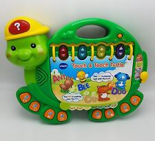 Vtech Touch and Teach Turtle Learning Phonics Numbers
