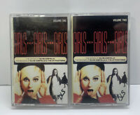 Elvis Costello Girls Girls Girls Vol. 1 & 2 Cassette Tape Lot
