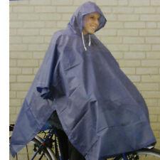 mit Kapuze Regenponcho Überzug schwer Pvc-mantel Fahrrad Festival Camping