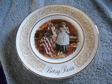 Betsy Ross Plate 1973 By Avon
