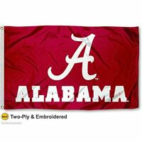 Alabama Crimson Tide ROLL TIDE Flag Double Sided A 2-Ply 3x5 Foot Outdoor Banner