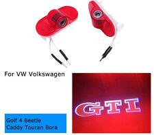GTI R Line Led Door Light Logo Projector HD For VW GOLF MK4 4 BEETLE BORA TOURAN