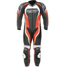 Tute in pelle e altri tessuti rossi in pelle per motociclista taglia 50