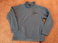 Harley Davidson Women's SM 1/4 Zip Pullover Long Sleeve Fleece Jacket EUC