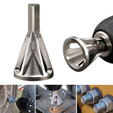 1pc Deburring Repair Damaged Bolts Quickly Bolt Thread Repair Tool Drill Bit