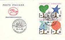 ITALIA la collezione delle 21 buste FDC Cavallino annata completa 1986