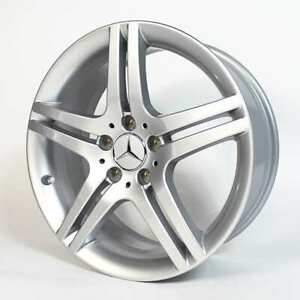 Original Mercedes-Benz 18 Zoll Felge W203 W209 R171 CLC CLK SLK silber NEU