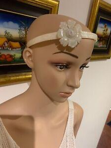 Rare❤️⭐️🎉 💗 Acetate Aliceband Headband Fascinator Hair Pin Clip Tie