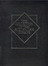ALBUM ONLY the collection of Australian Stamps 1986 w/sleeve VGUC