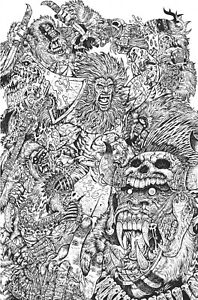 Vault Comics BARBARIC #1 Maria Wolf Exclusive Virgin Inks Variant Limited to 50